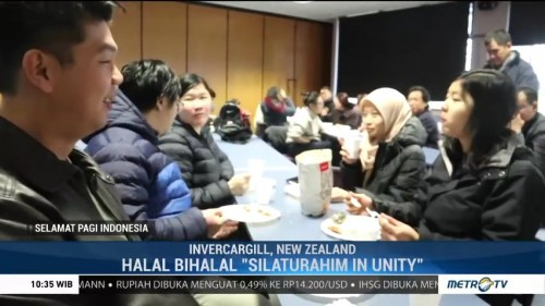Halalbihalal WNI di New Zealand