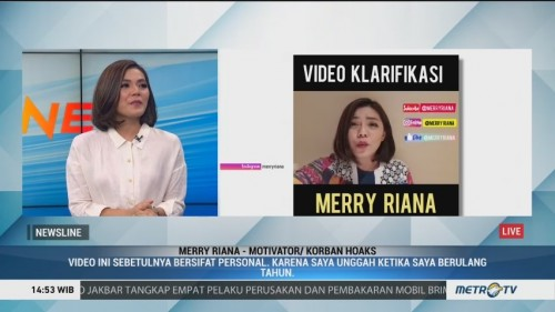 Klarifikasi Video Hoaks Merry Riana