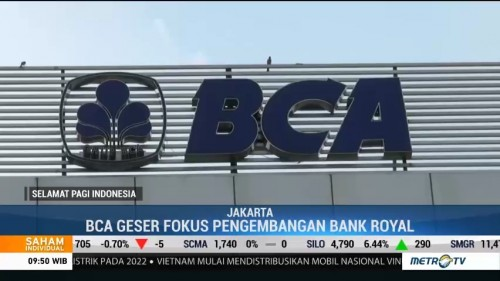 Rencana BCA Merger BCA Syariah-Bank Royal