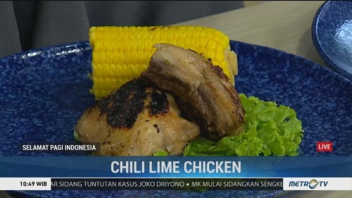 Chili Lime Chicken ala Chef Lisa Namuri