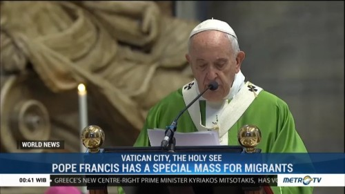 Pope Francis Has A Special Mass for Migrants