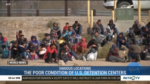The Poor Condition of U.S. Detention Centers