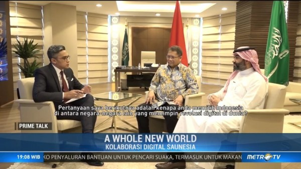 A Whole New World: Kolaborasi Digital Saunesia (1)