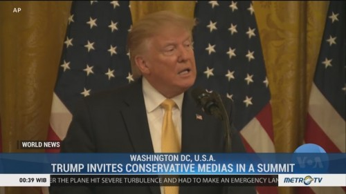 Trump Invites Conservative Medias in a Summit