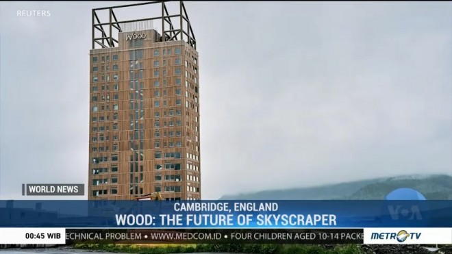 Wood: The Future of Skyscraper