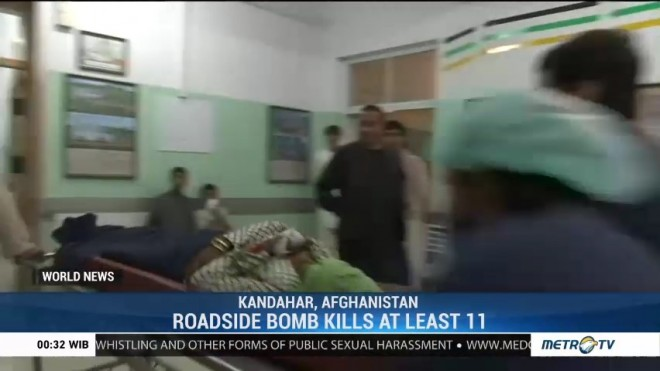 Roadside Bomb Kills 11 in Kandahar Province