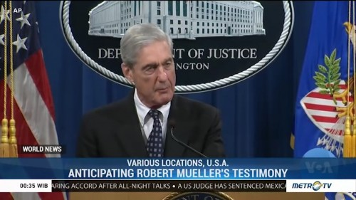 Anticipating Robert Mueller's Testimony