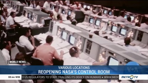Reopening Nasa's Control Room