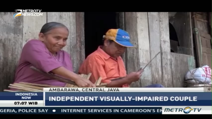 Independent Visually-Impaired Couple