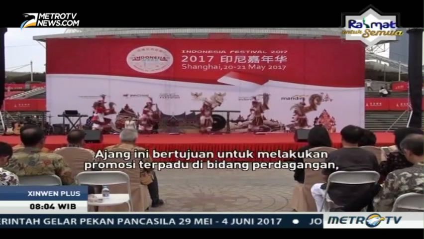 Gelaran Indonesia Week 2017 di Shanghai