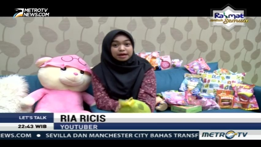 Let's Talk with Ria Ricis