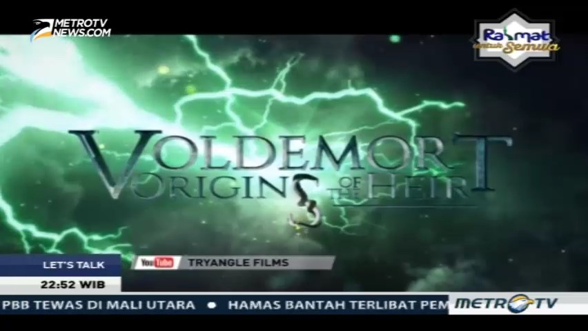 Fans Harry Potter Garap Film Tentang Voldemort