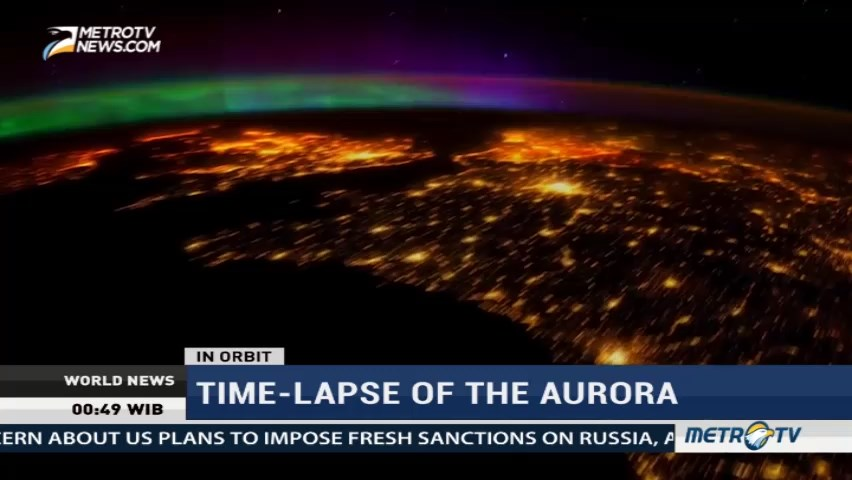 Time-Lapse of The Aurora