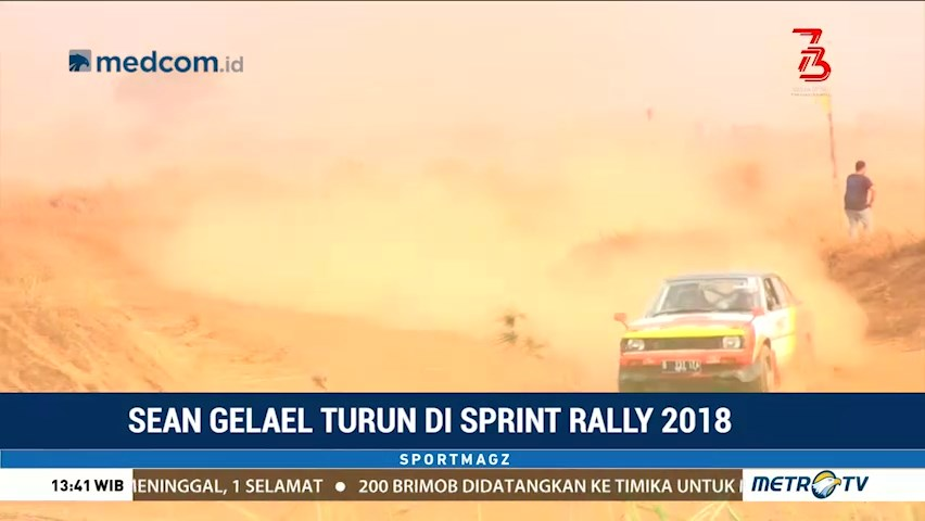 Sean Gelael Turun di Sprint Rally 2018