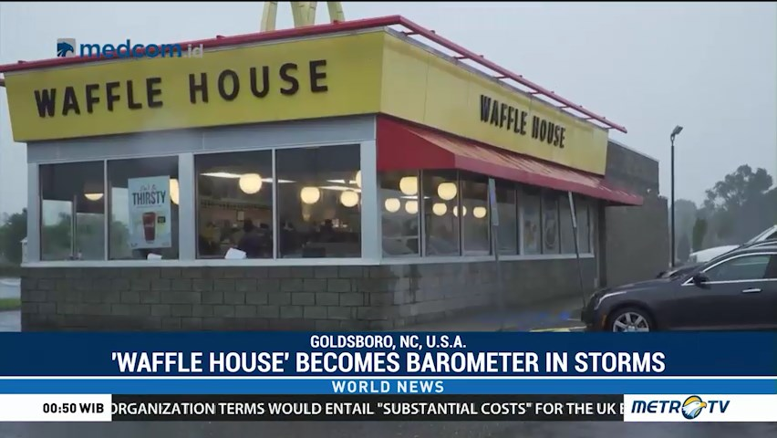 'Waffle House' Becomes Barometer in Storms