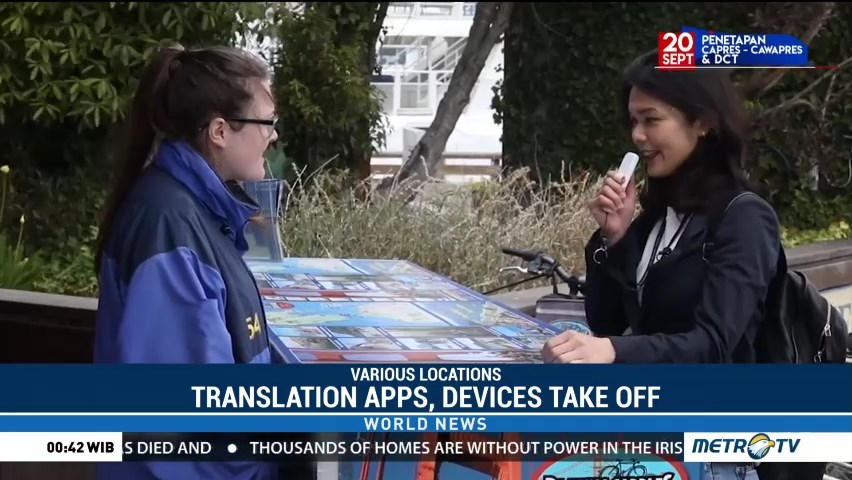 Translation Apps, Devices Take Off