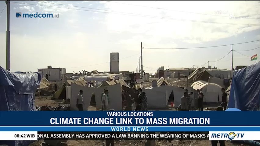 Climate Change Link to Mass Migration